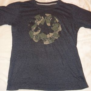 Converse All-Star T-shirt with camo logo
